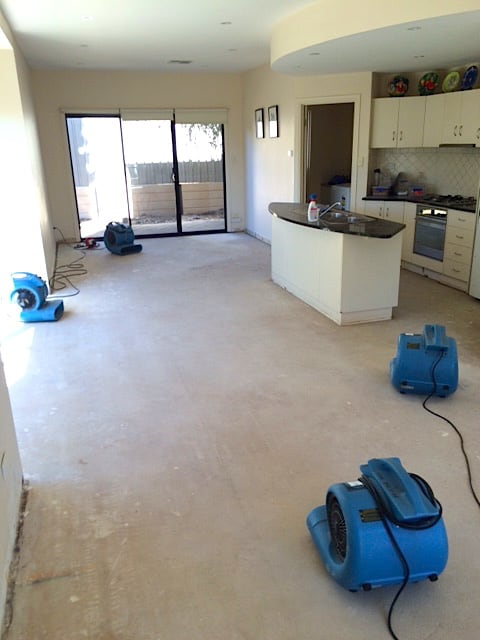 carpet flood drying fan hire adelaide