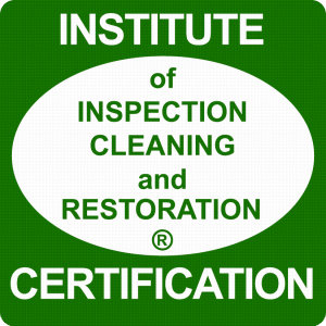 IICRC carpet cleaning flood damage certification