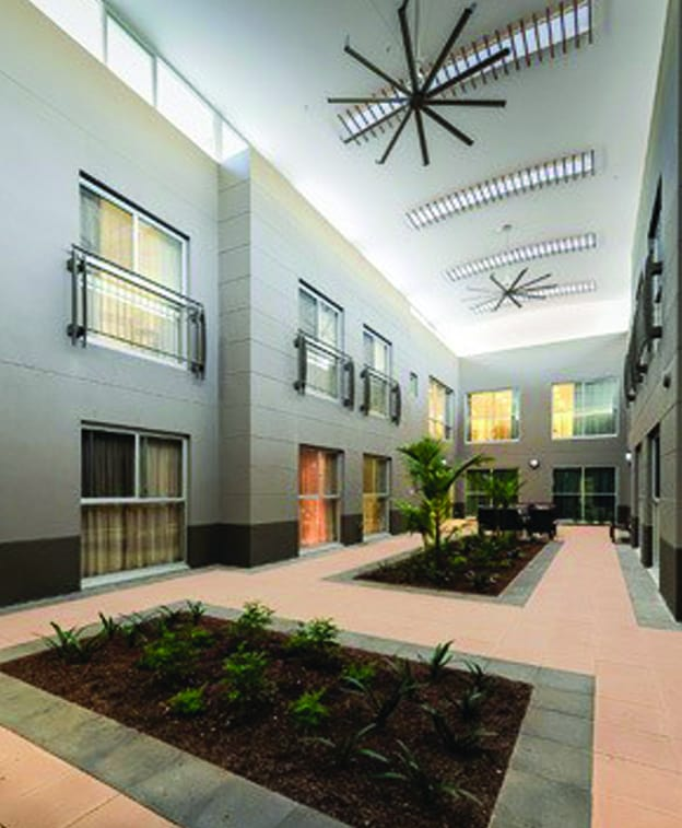 inside aged care cleaned units