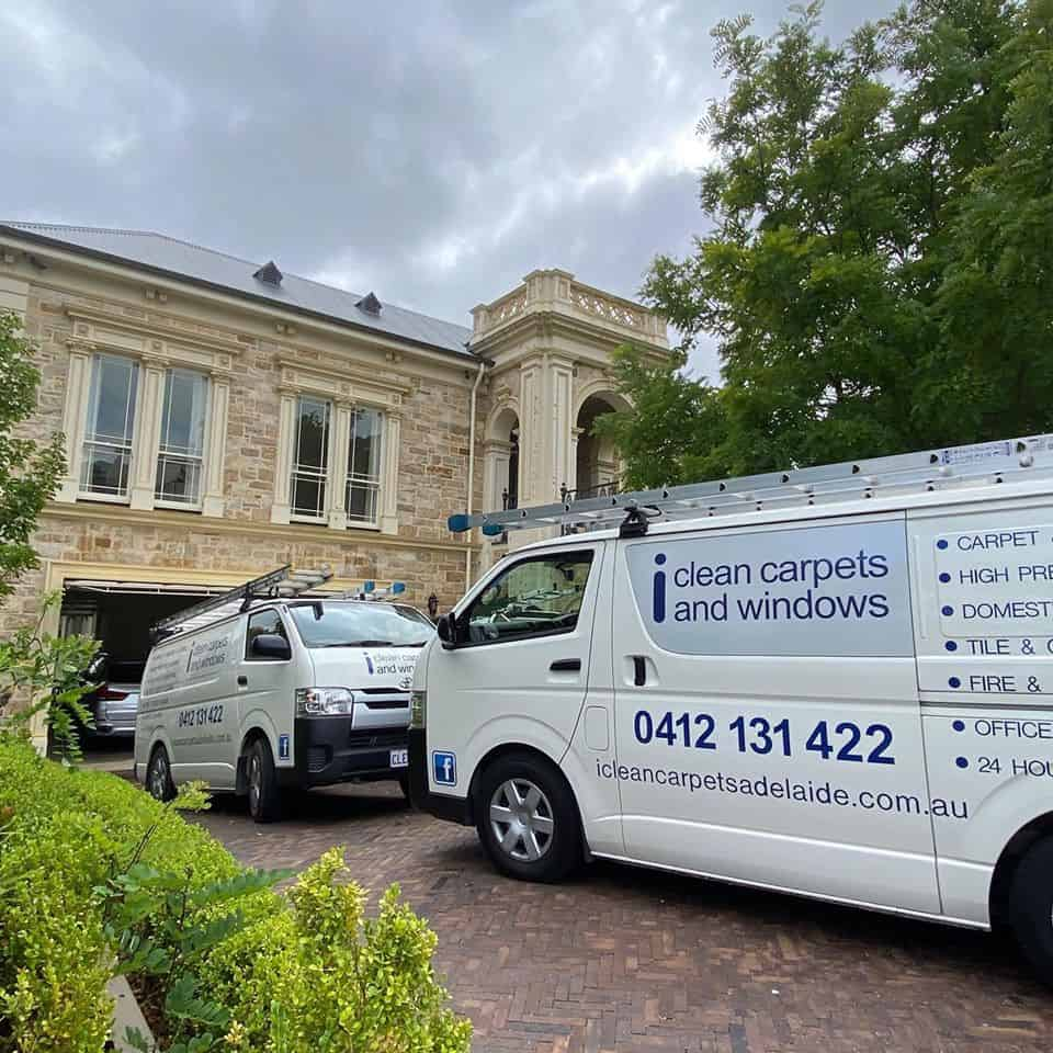 Carpet cleaning Adelaide Hills property