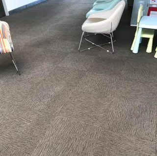 carpet at childcare centre after being cleaned