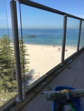 after window cleaning balcony glenelg