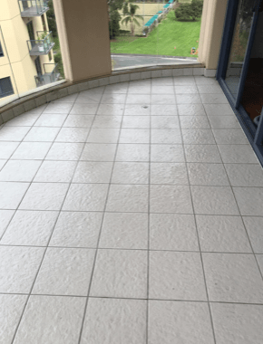 new looking tiles after a good clean