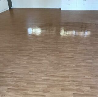 floorboards after cleaning